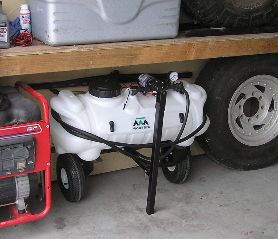 Best ideas about DIY Sprayer Boom Kit . Save or Pin Master MFG Lawn Trailer Frame for 15 and 25 Gallon Spot Now.