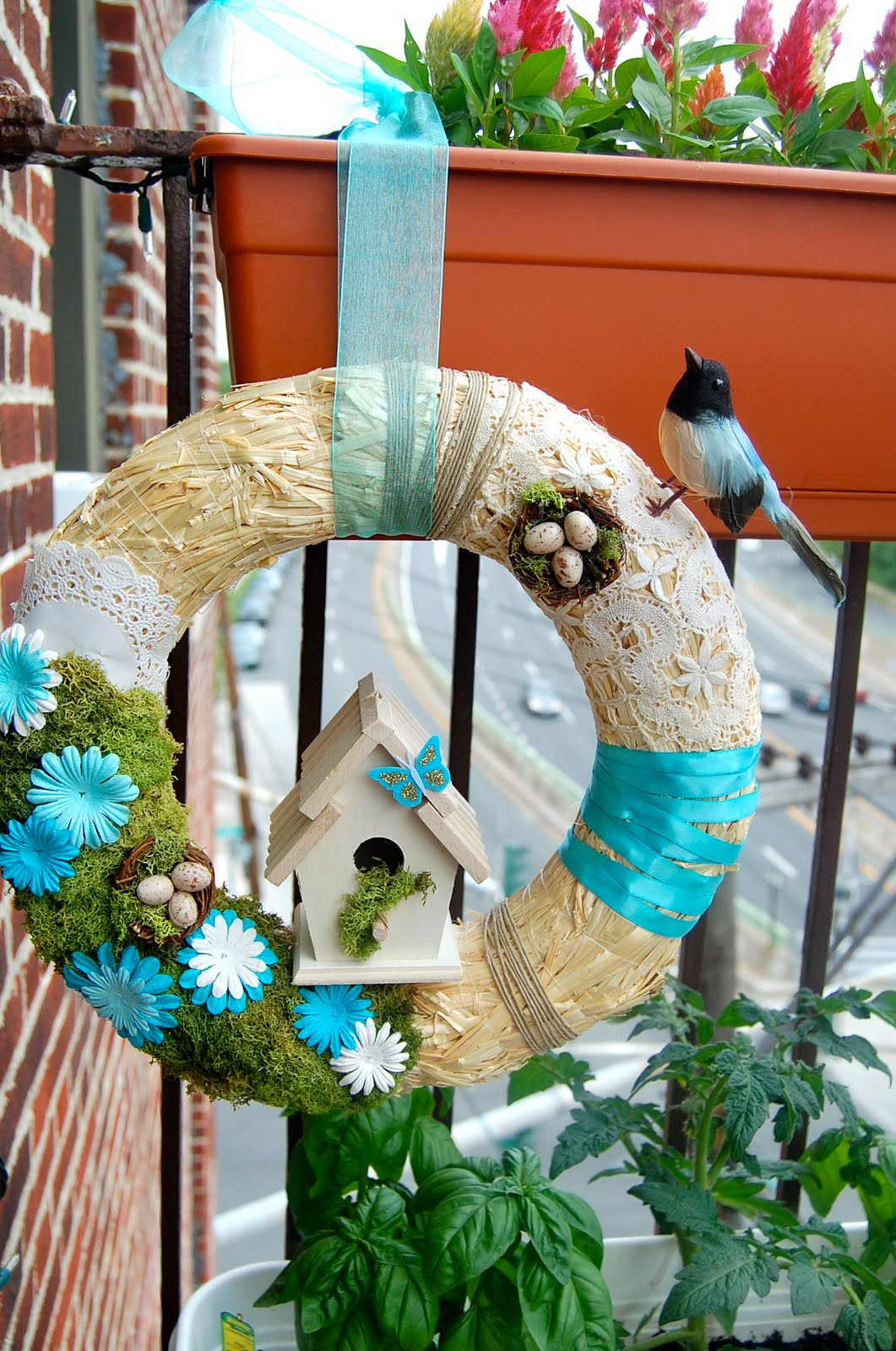 Best ideas about DIY Spring Wreath . Save or Pin ohh my gracious Spring Wreath DIY Now.