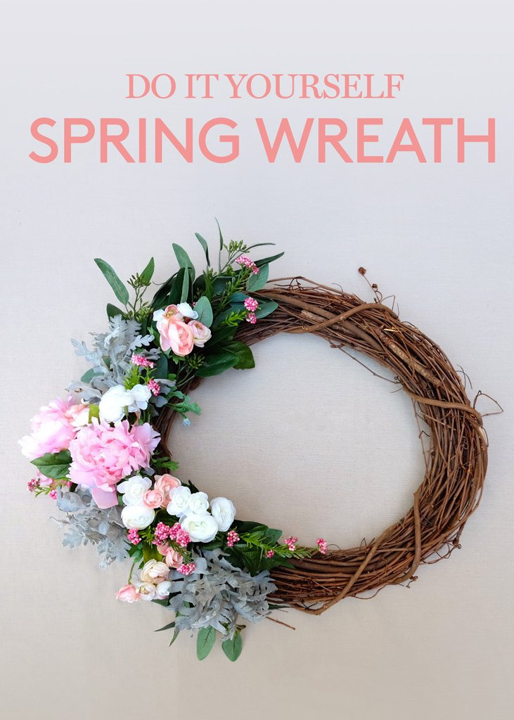 Best ideas about DIY Spring Wreath . Save or Pin DIY Spring Wreath – Afloral Now.