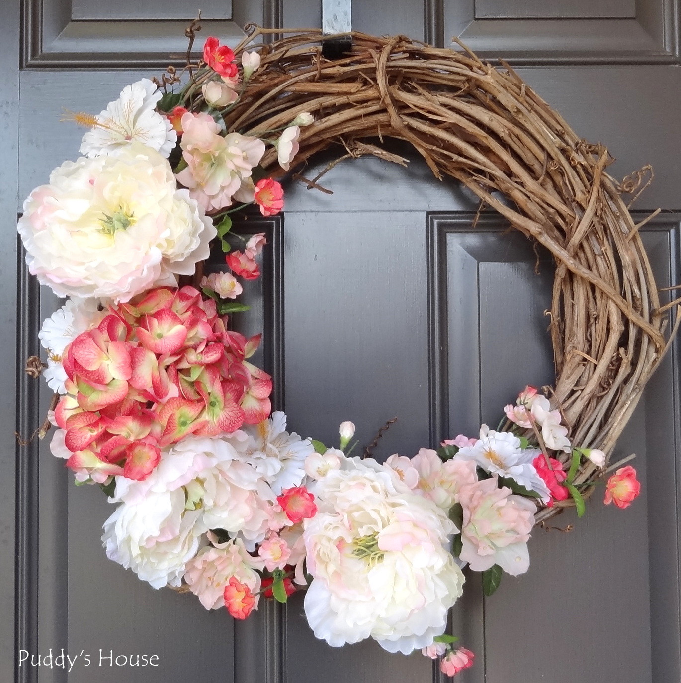 Best ideas about DIY Spring Wreath . Save or Pin 2014 DIY Spring Wreath – Puddy s House Now.