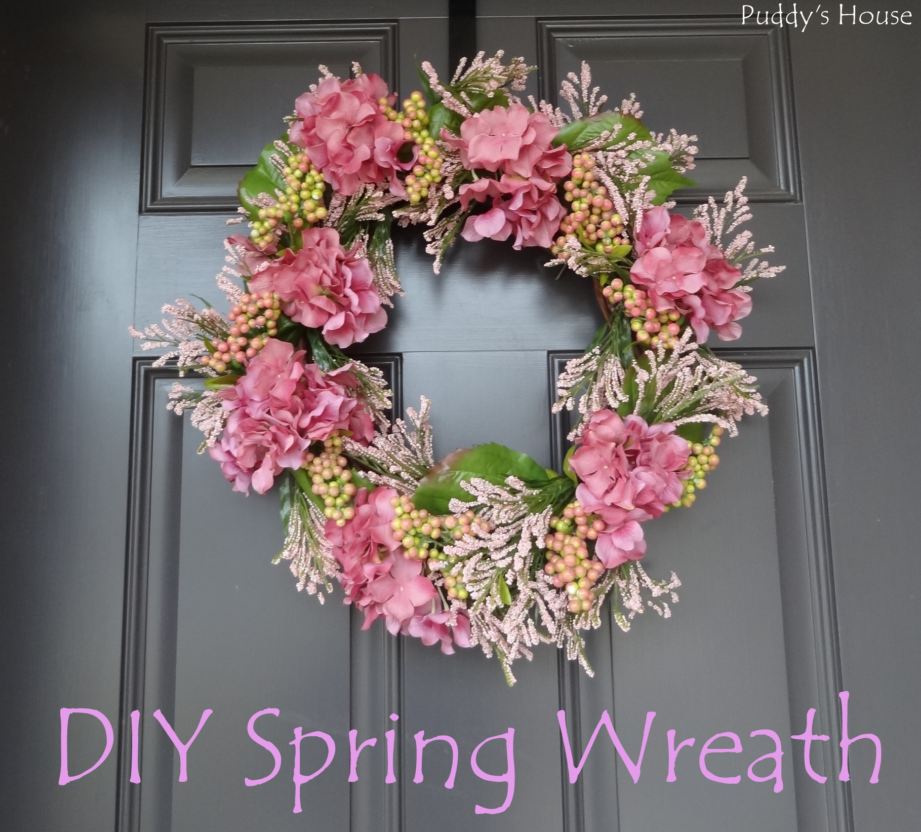 Best ideas about DIY Spring Wreath . Save or Pin DIY Spring Wreath Now.