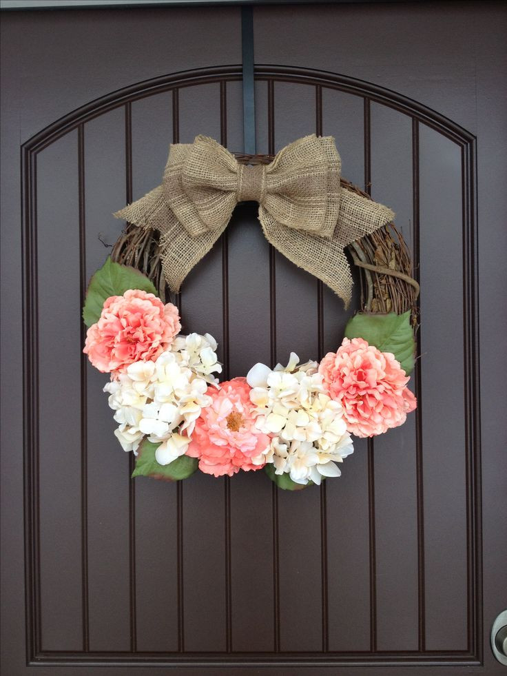 Best ideas about DIY Spring Wreath . Save or Pin 25 best ideas about Front Door Wreaths on Pinterest Now.