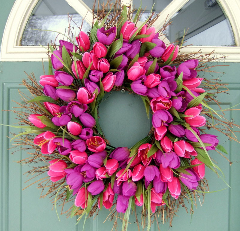 Best ideas about DIY Spring Wreath . Save or Pin Copy Cat Looks DIY Spring Wreath Now.
