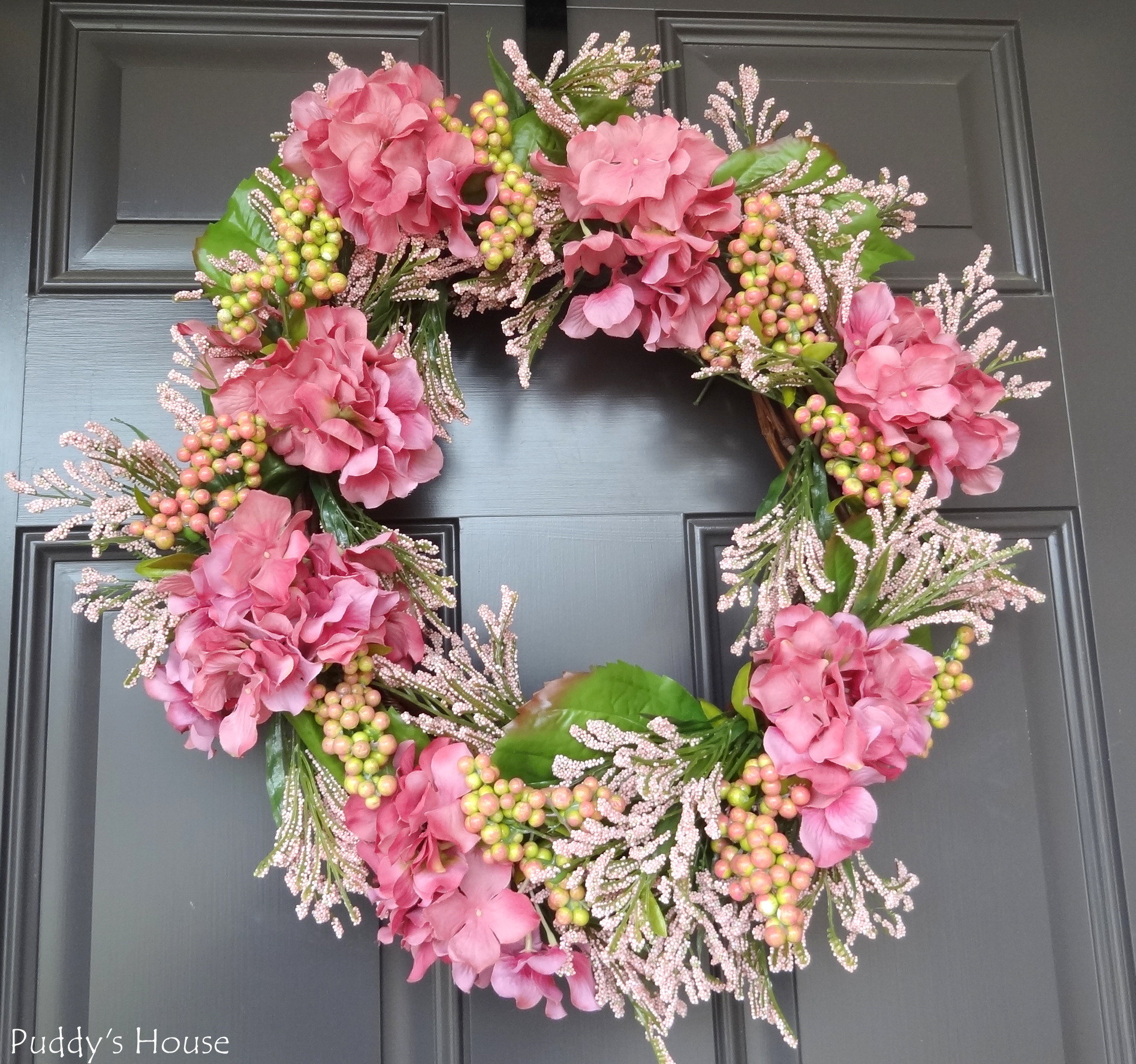 Best ideas about DIY Spring Wreath . Save or Pin DIY Spring Wreath – Puddy s House Now.