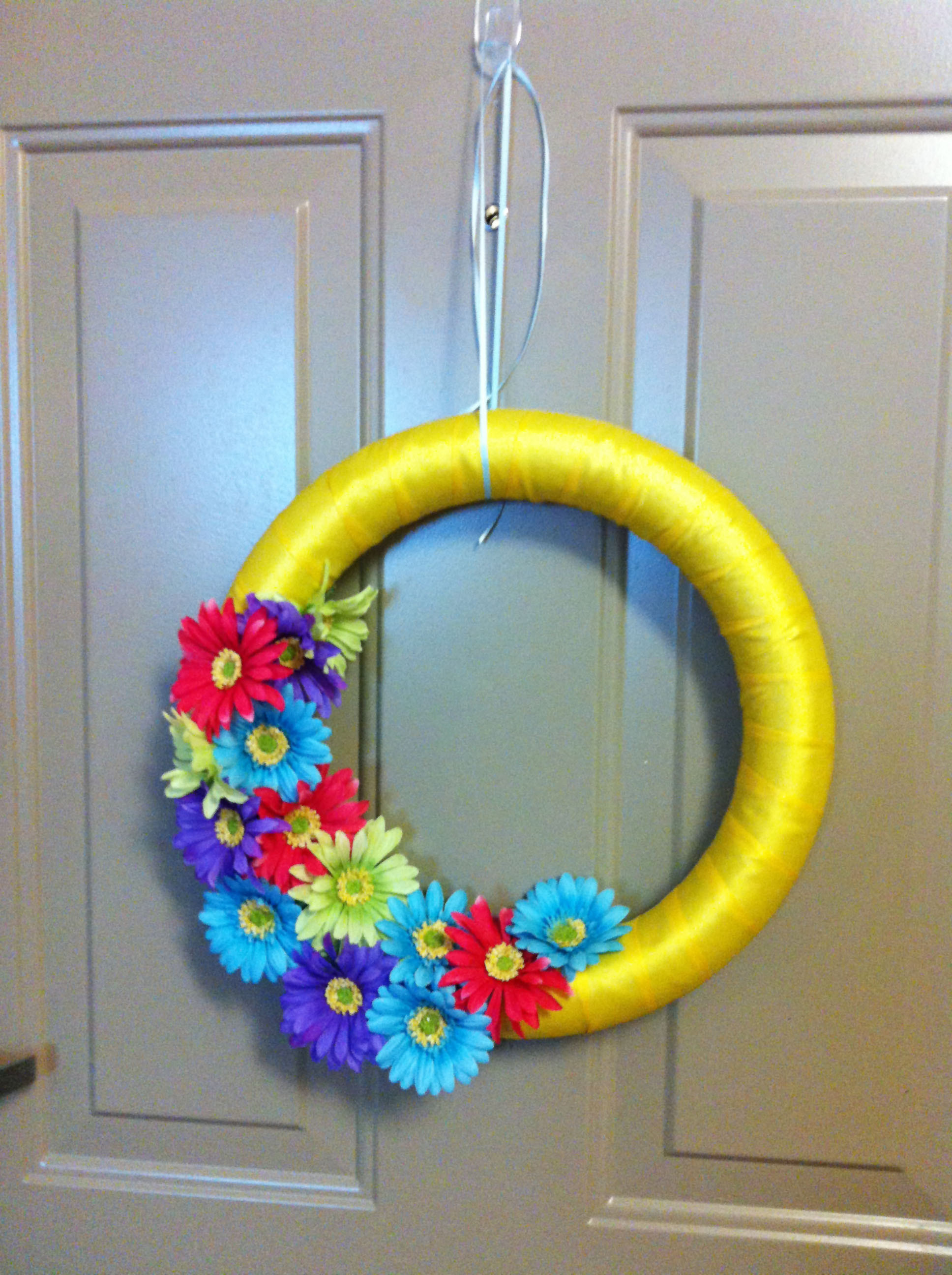 Best ideas about DIY Spring Wreath . Save or Pin diy wreath Now.