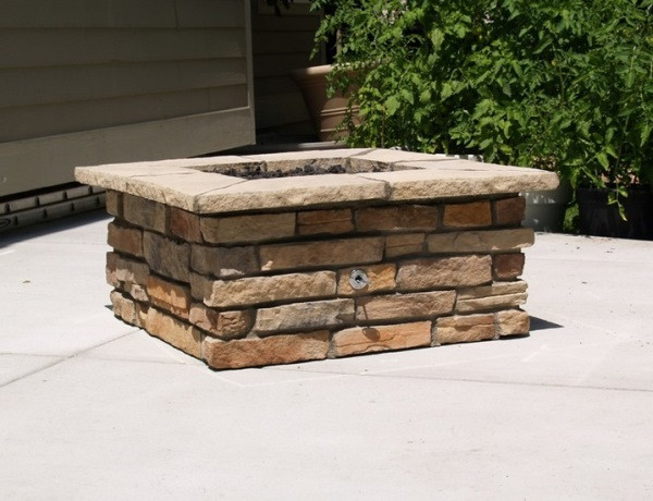 Best ideas about DIY Square Fire Pit . Save or Pin How to Build a Square Fire Pit Now.