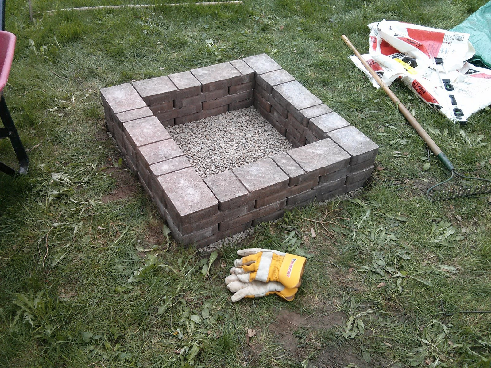 Best ideas about DIY Square Fire Pit . Save or Pin 4 DIY Fire Pits for Spring Nights Now.