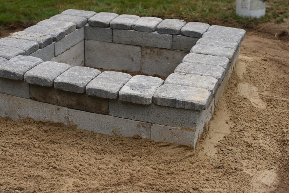 Best ideas about DIY Square Fire Pit . Save or Pin DIY Fire Pit Now.