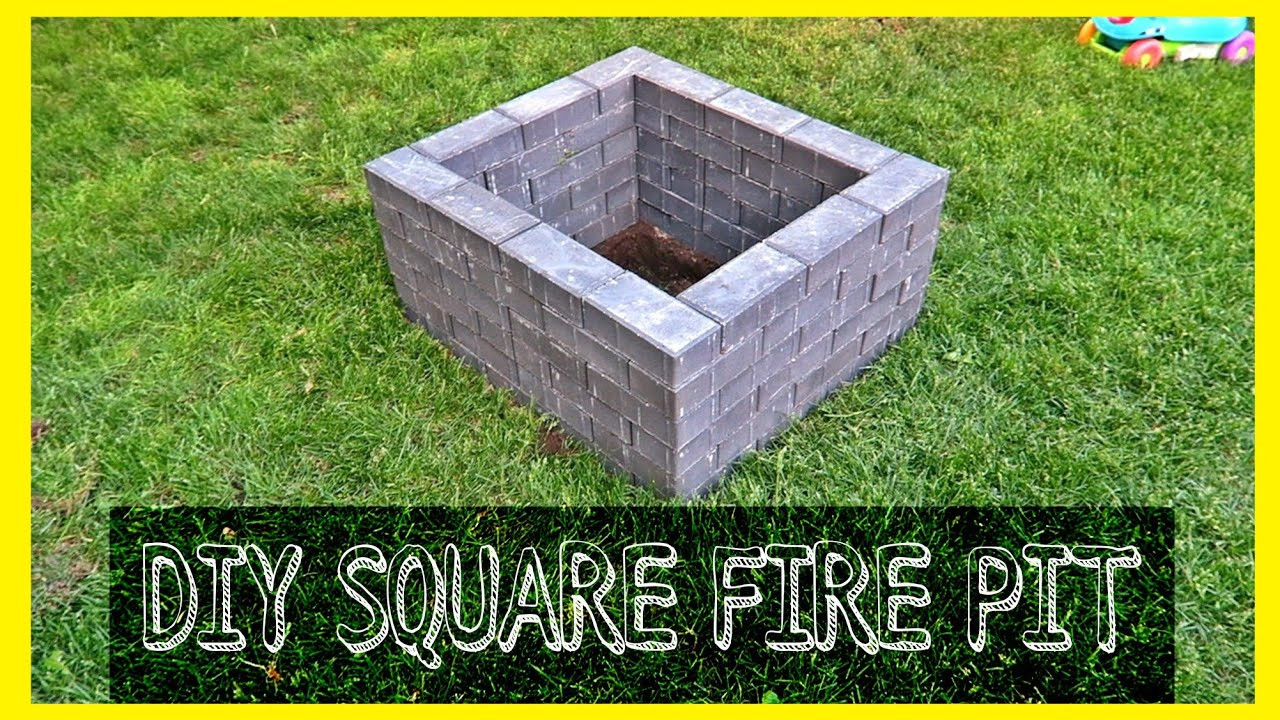 Best ideas about DIY Square Fire Pit . Save or Pin DIY SQUARE FIRE PIT Now.