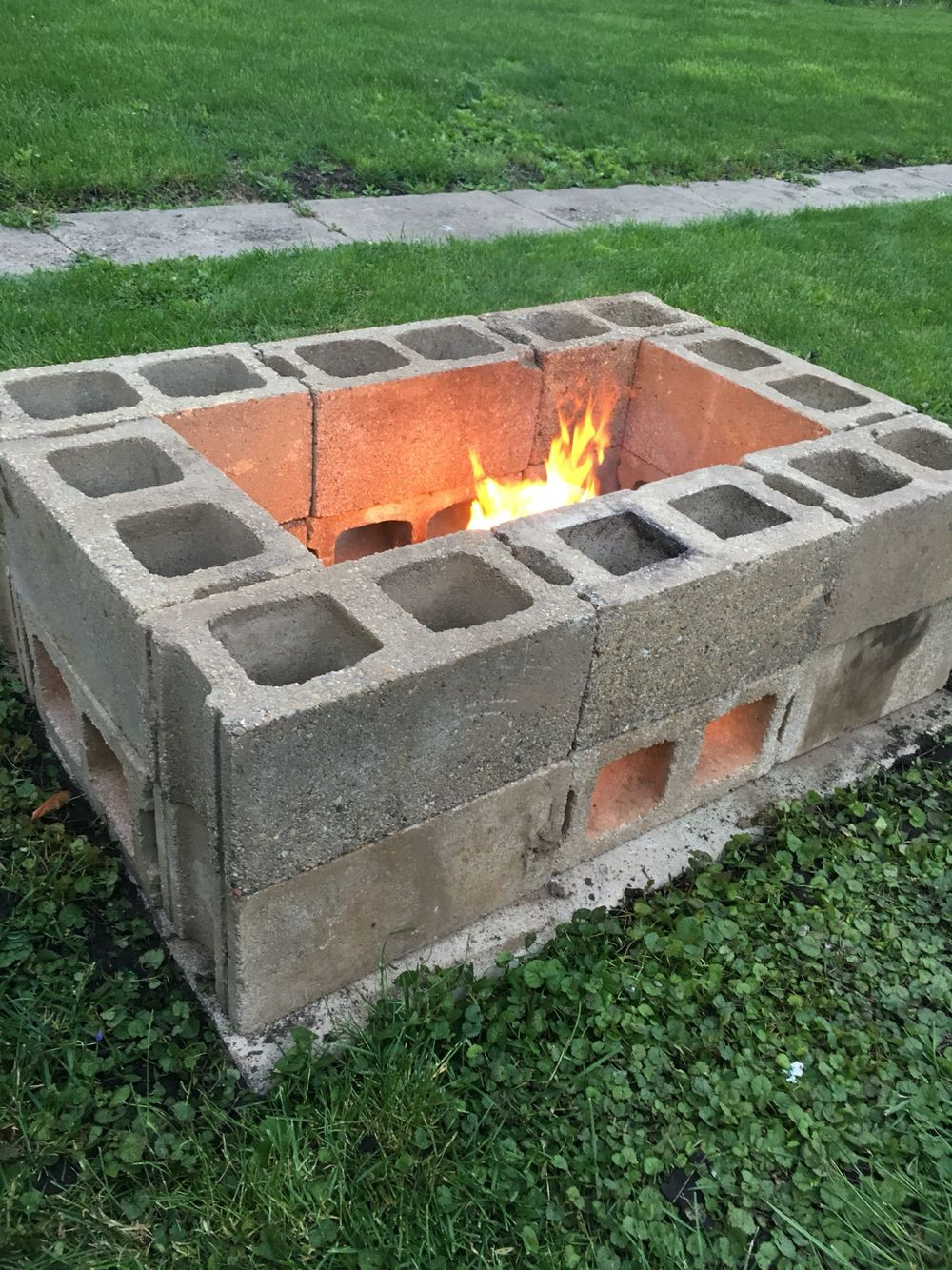 Best ideas about DIY Square Fire Pit . Save or Pin 15 Outstanding Cinder Block Fire Pit Design Ideas For Now.