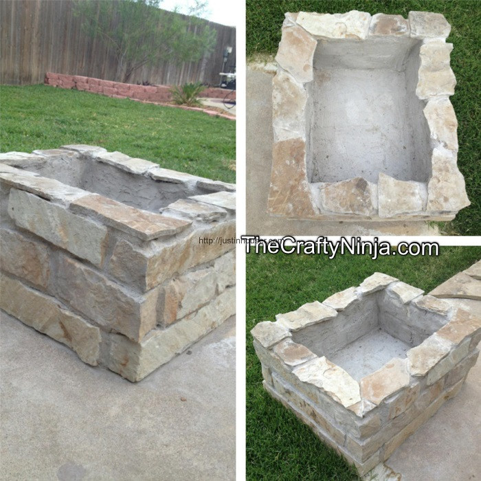 Best ideas about DIY Square Fire Pit . Save or Pin 35 DIY Fire Pit Tutorials Stay Warm And Cozy Now.