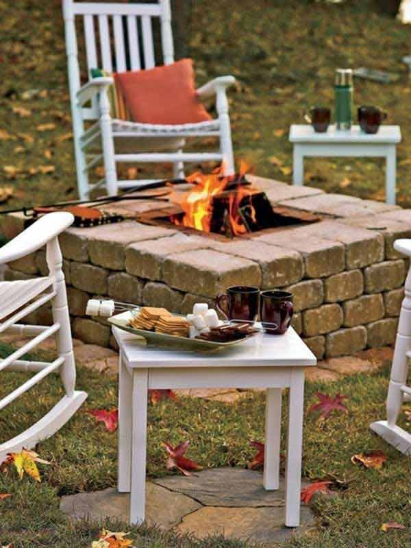Best ideas about DIY Square Fire Pit . Save or Pin 38 Easy and Fun DIY Fire Pit Ideas Now.