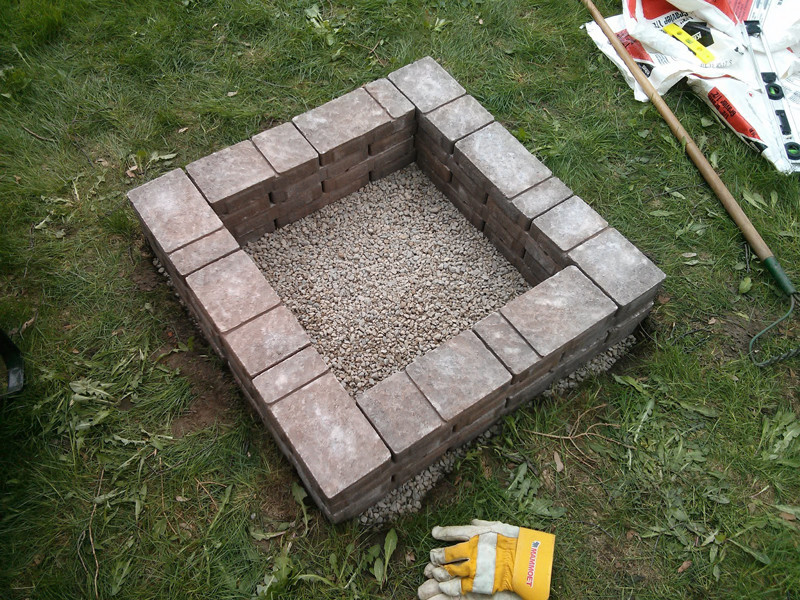 Best ideas about DIY Square Fire Pit . Save or Pin How to Make Square Fire Pit DIY & Crafts Handimania Now.