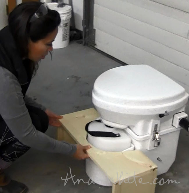 Best ideas about DIY Squatty Potty . Save or Pin Ana White Now.