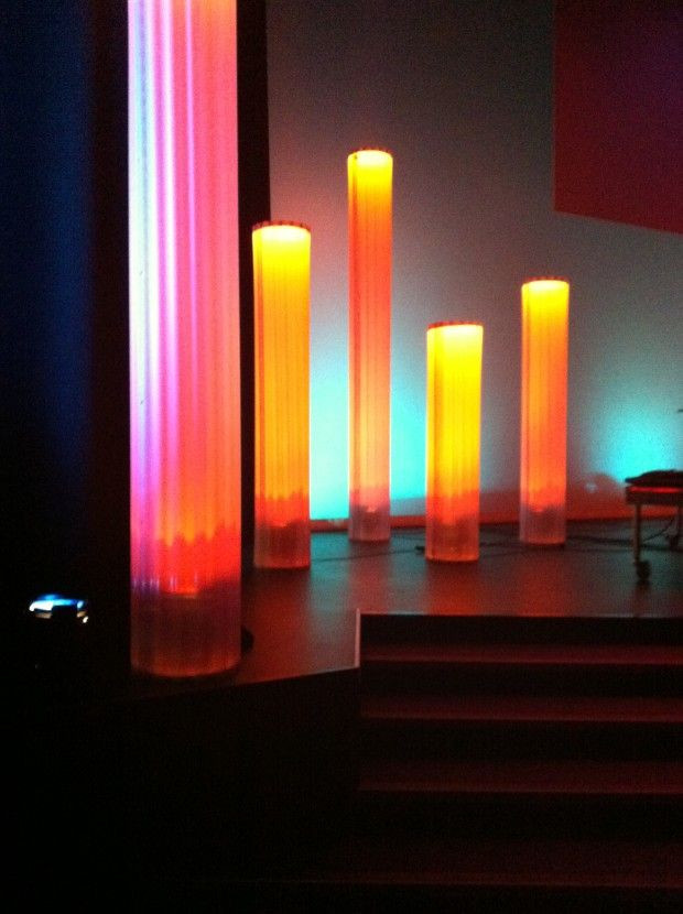 Best ideas about DIY Stage Lighting . Save or Pin Column Dreams made from corrugated plastic Now.