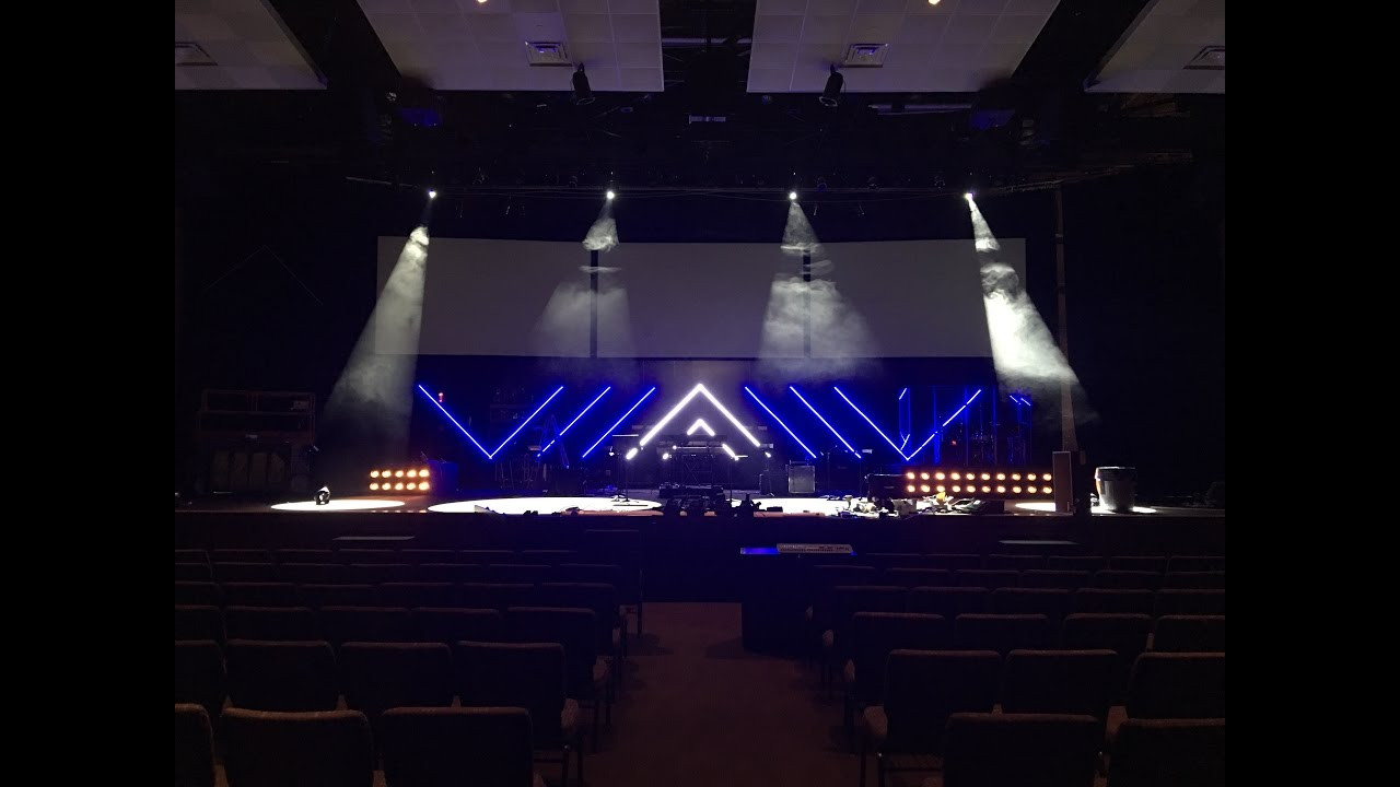 Best ideas about DIY Stage Lighting . Save or Pin DIY LED Tape Light Stage Set Now.