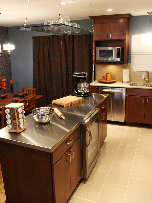 Best ideas about DIY Stainless Steel Countertops . Save or Pin How to Install a Stainless Steel Kitchen Countertop Now.