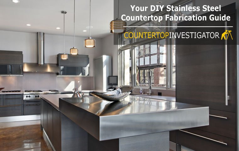 Best ideas about DIY Stainless Steel Countertops . Save or Pin DIY Stainless Steel Countertops An Easy To Follow Guide Now.