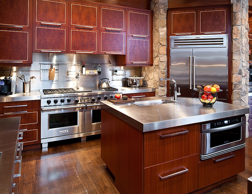 Best ideas about DIY Stainless Steel Countertops . Save or Pin DIY Stainless Steel Countertops Now.