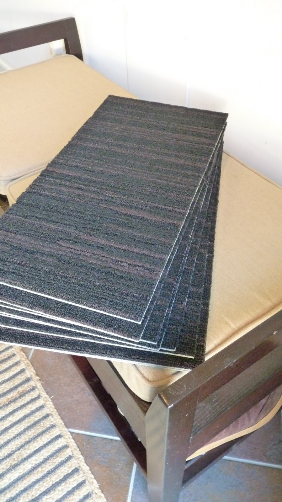 Best ideas about DIY Stair Treads . Save or Pin DiSabella Design DIY Carpet Stair Treads Now.