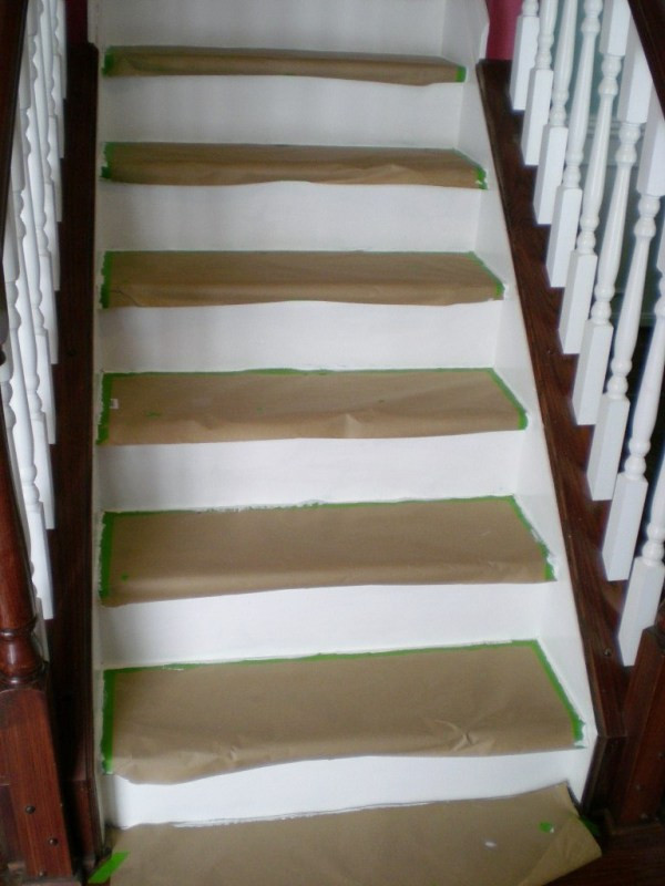 Best ideas about DIY Stair Treads . Save or Pin Remodelaholic Now.