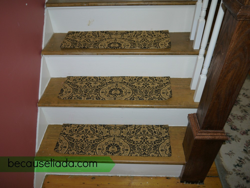 Best ideas about DIY Stair Treads . Save or Pin Make Your Own Carpet Stair Treads — Because Liada Now.