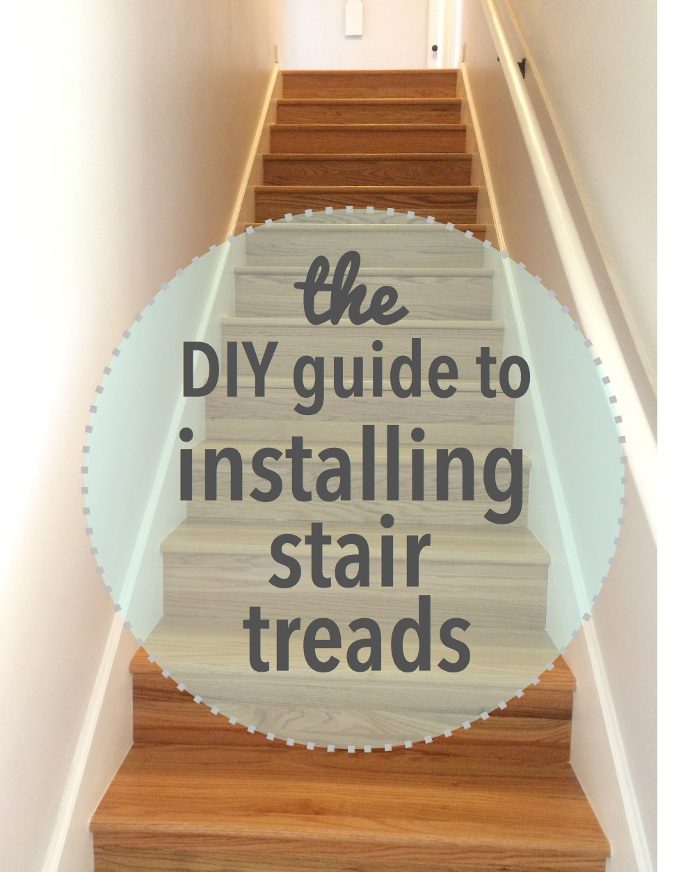 Best ideas about DIY Stair Treads . Save or Pin The DIY Guide to Installing Stair Treads – Our Tennessee Home Now.