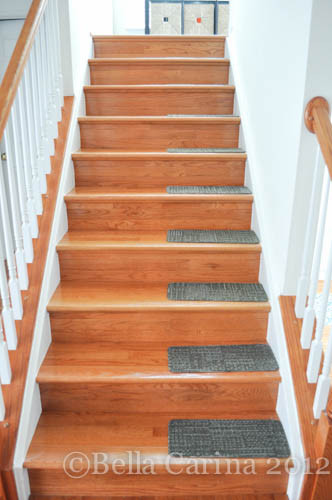Best ideas about DIY Stair Treads . Save or Pin The things we do for our pup…DIY Stair Treads Now.
