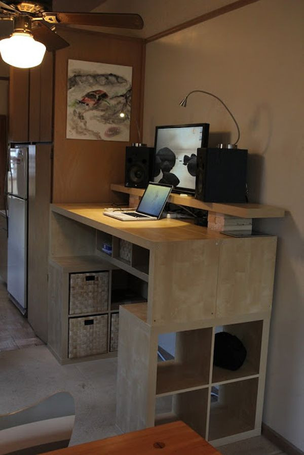 Best ideas about DIY Standing Desk Ikea . Save or Pin 10 IKEA Standing Desk Hacks With Ergonomic Appeal Now.