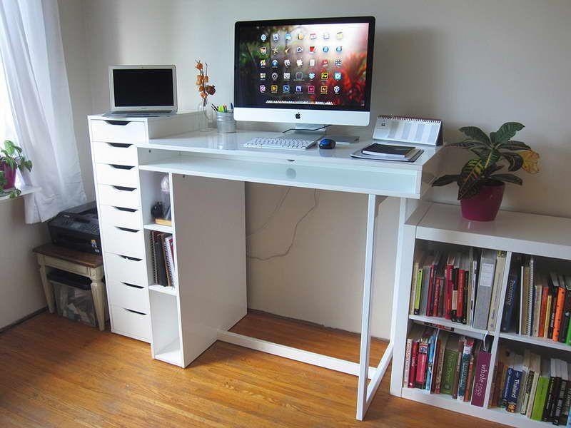 Best ideas about DIY Standing Desk Ikea . Save or Pin DIY Standing Desk Ikea Ikea Standing Desks Now.
