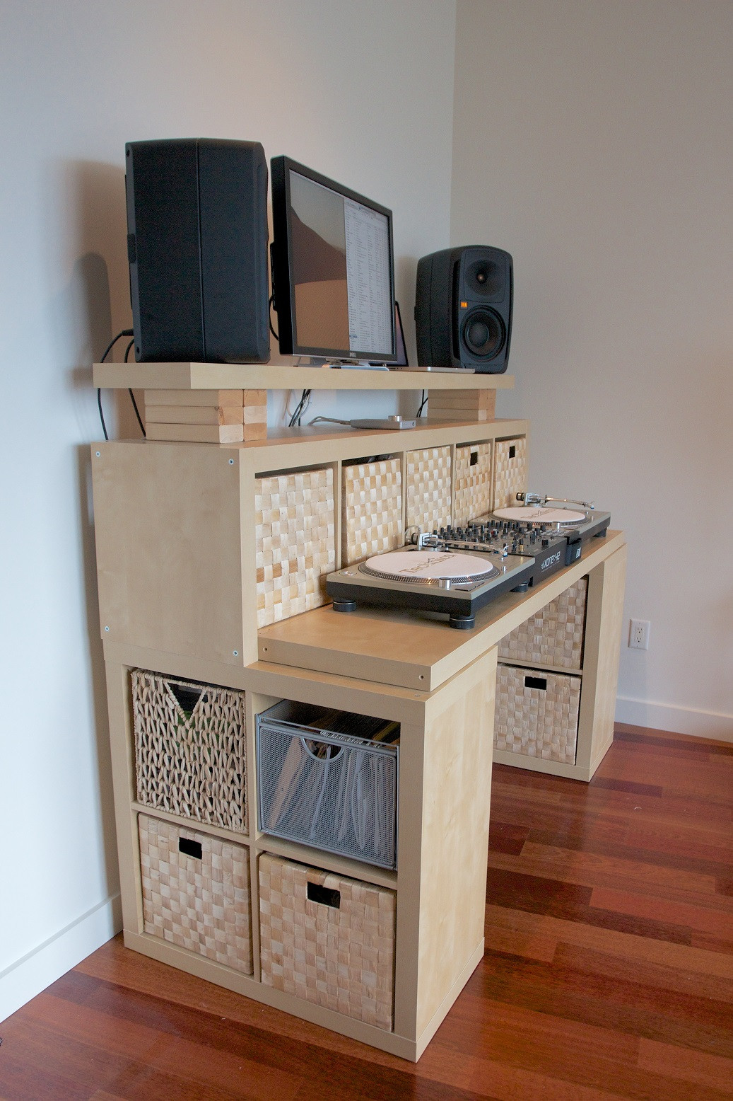 """Best ideas about DIY Standing Desk Ikea . Save or Pin The """"Spaceship"""" DIY standing desk A massive attractive Now."""
