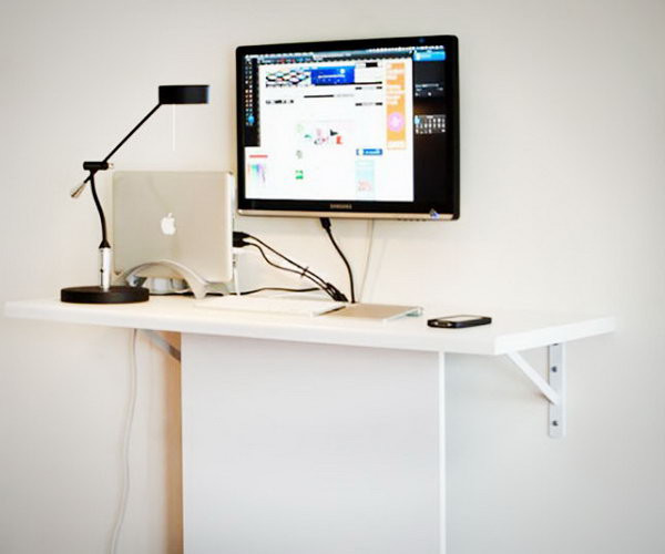 Best ideas about DIY Standing Desk Ikea . Save or Pin 15 DIY puter Desks Tutorials For Your Home fice 2017 Now.