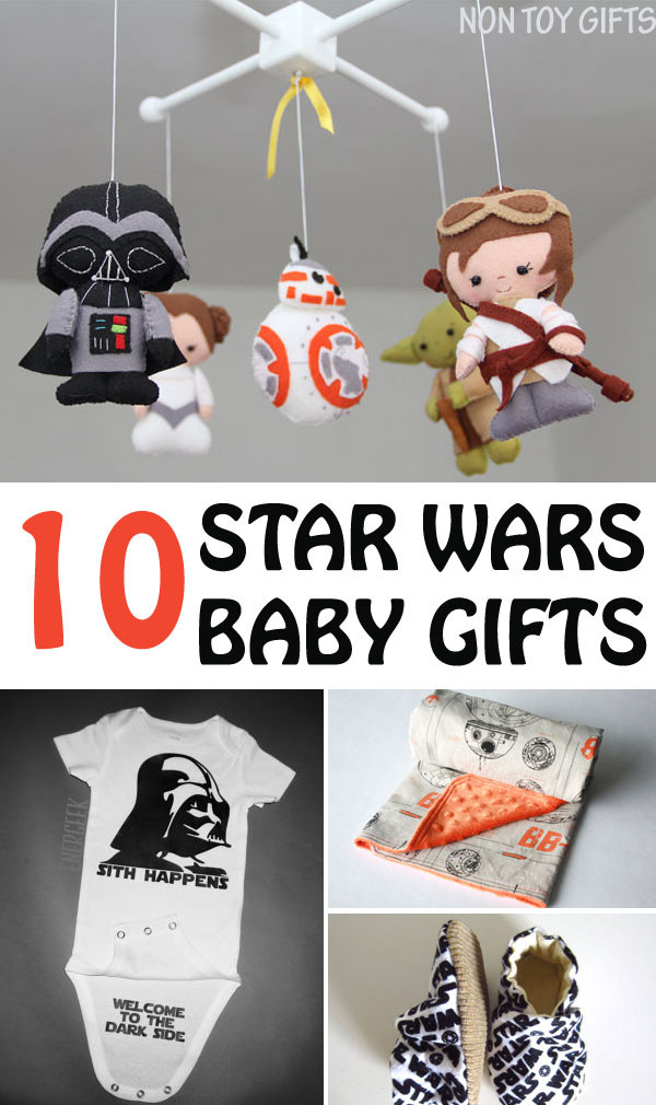 Best ideas about DIY Star Wars Gifts . Save or Pin 10 Star Wars baby ts NON TOY GIFTS Now.
