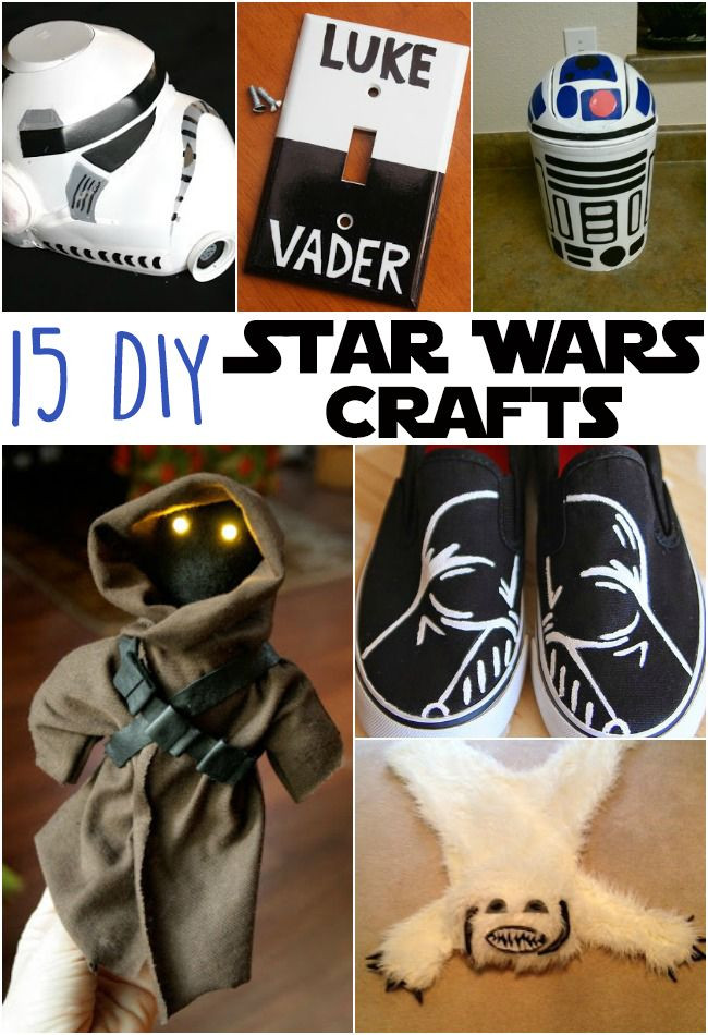 Best ideas about DIY Star Wars Gifts . Save or Pin 15 Awesome DIY Star Wars Crafts Now.
