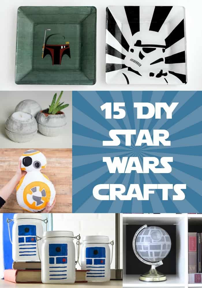 Best ideas about DIY Star Wars Gifts . Save or Pin 15 DIY Star Wars Projects You ll Love DIY Candy Now.