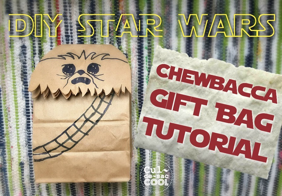 Best ideas about DIY Star Wars Gifts . Save or Pin DIY Star Wars Chewbacca Gift Bag Tutorial Now.