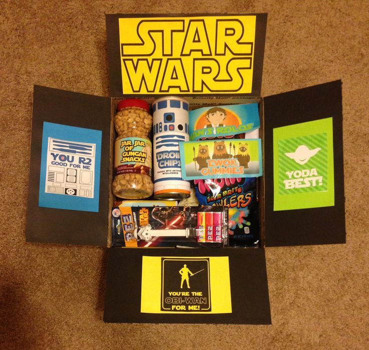 Best ideas about DIY Star Wars Gifts . Save or Pin Star Wars Care Package starwarscarepackage Now.
