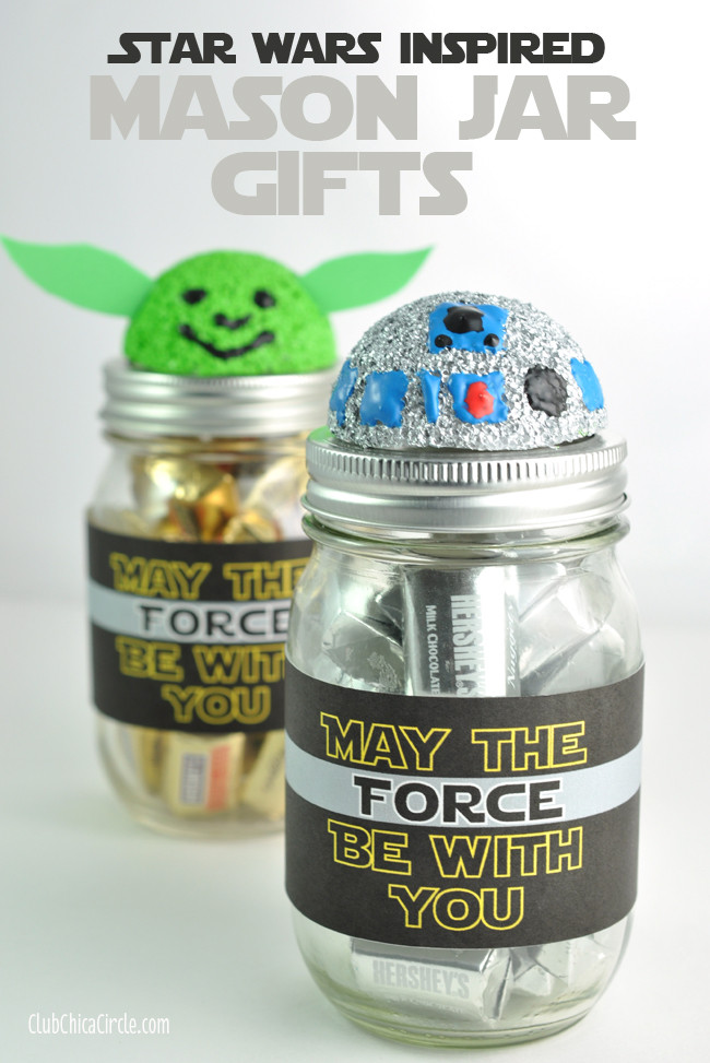 Best ideas about DIY Star Wars Gifts . Save or Pin Star Wars Mason Jar Gifts 100 Days of Homemade Holiday Now.