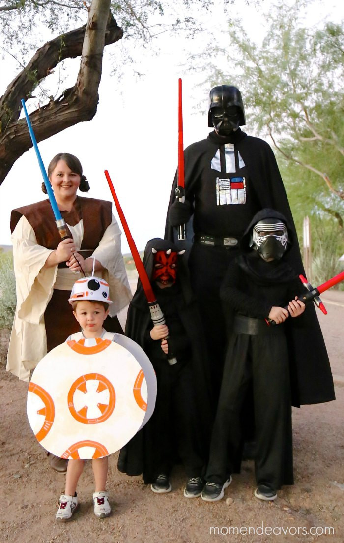 Best ideas about DIY Starwars Costume . Save or Pin DIY Family Halloween Costume Ideas The Idea Room Now.