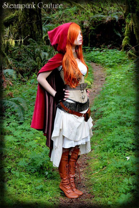 "Best ideas about DIY Steampunk Costume . Save or Pin ""Little Red"" by ByKato on DeviantArt Now."