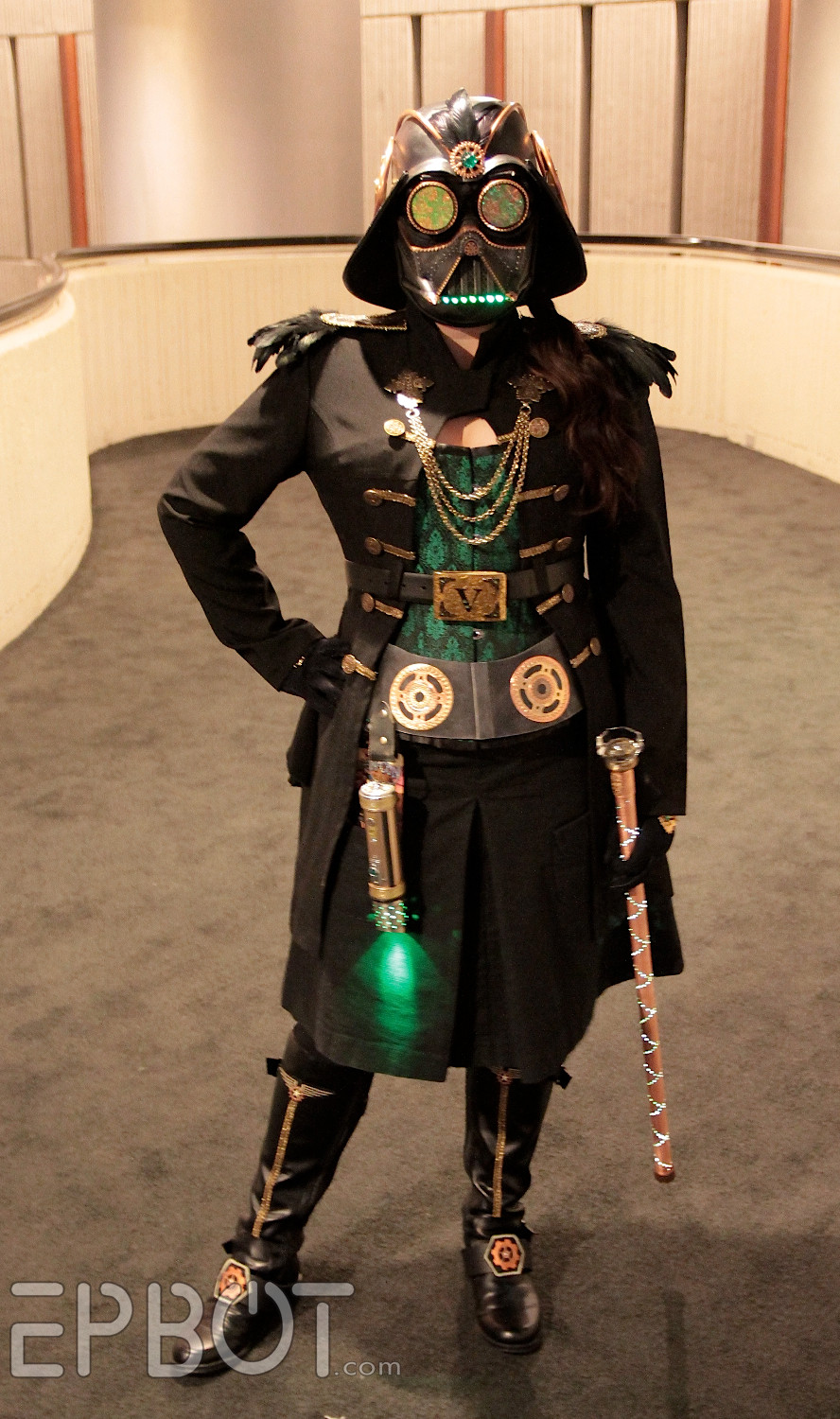Best ideas about DIY Steampunk Costume . Save or Pin EPBOT DIY Light Up Copper Cane Now.