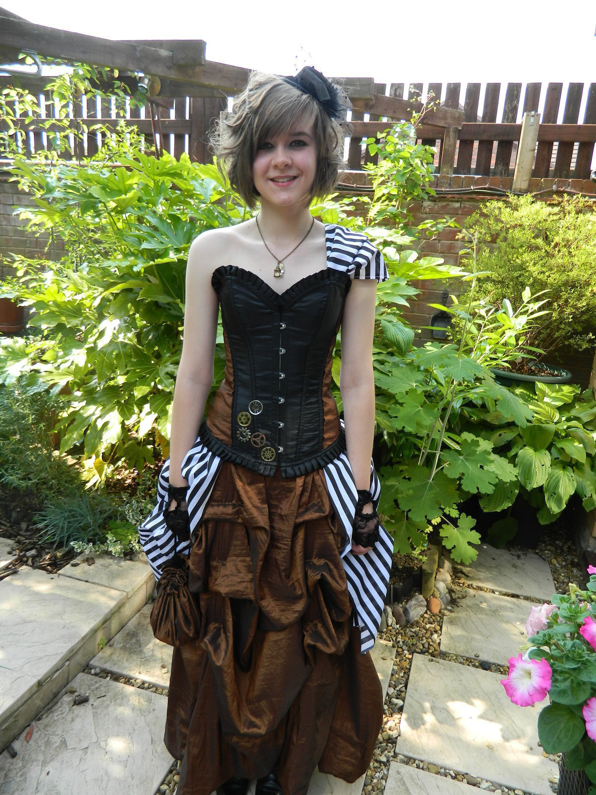 Best ideas about DIY Steampunk Costume . Save or Pin Steampunk Prom Dress · How To Sew A Prom Dress · Sewing on Now.
