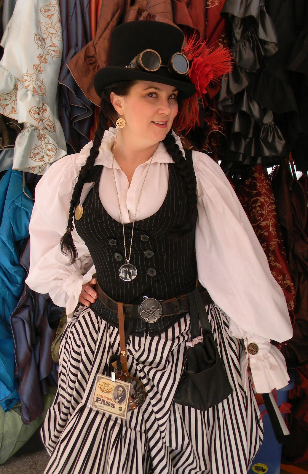 Best ideas about DIY Steampunk Costume . Save or Pin EPBOT The Search for a Steampunk Prom Dress Now.