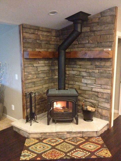 Best ideas about DIY Stone Wall Behind Wood Stove . Save or Pin 1000 ideas about Wood Stove Wall on Pinterest Now.