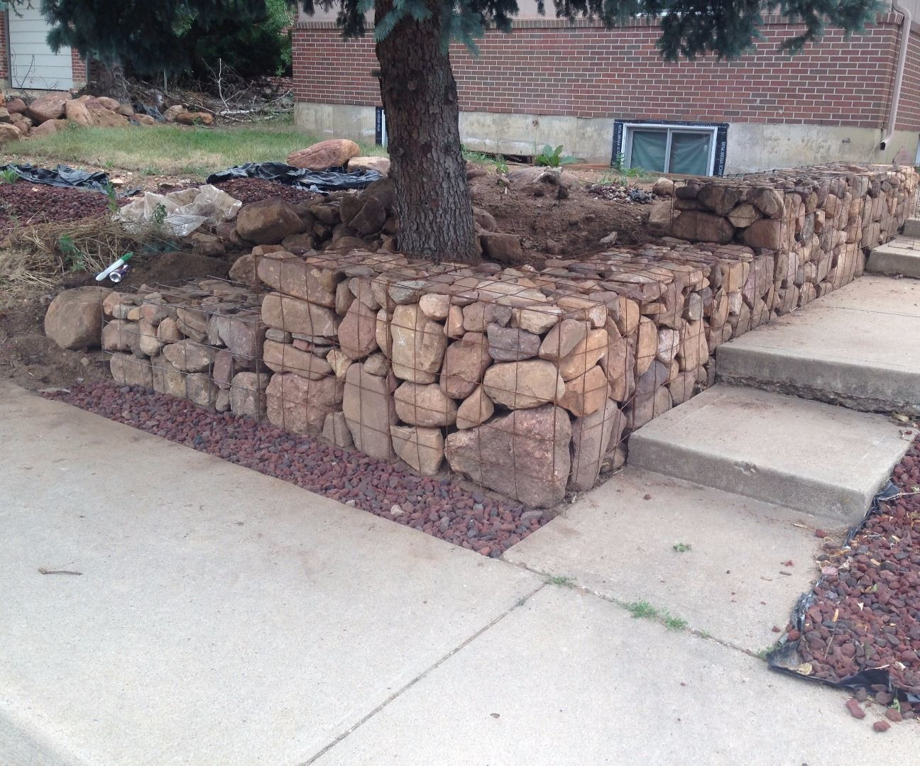Best ideas about DIY Stone Wall . Save or Pin Cheap DIY Gabion baskets 4 Now.
