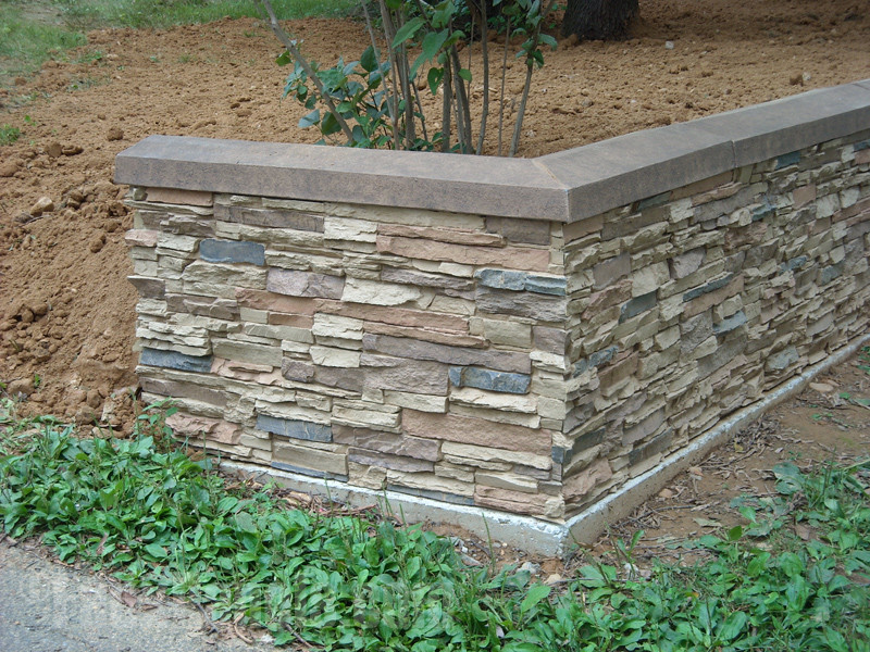 Best ideas about DIY Stone Wall . Save or Pin Easy Retaining Wall Projects Now.