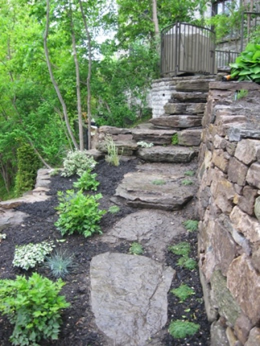 Best ideas about DIY Stone Wall . Save or Pin How to Build a Natural Stone Retaining Wall the Right Way Now.