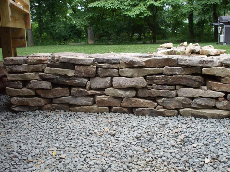 Best ideas about DIY Stone Wall . Save or Pin 17 Best images about DIY Retaining Wall on Pinterest Now.