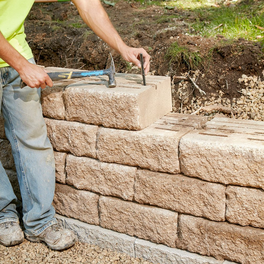 Best ideas about DIY Stone Wall . Save or Pin Build a Sturdy Retaining wall that will last a lifetime Now.