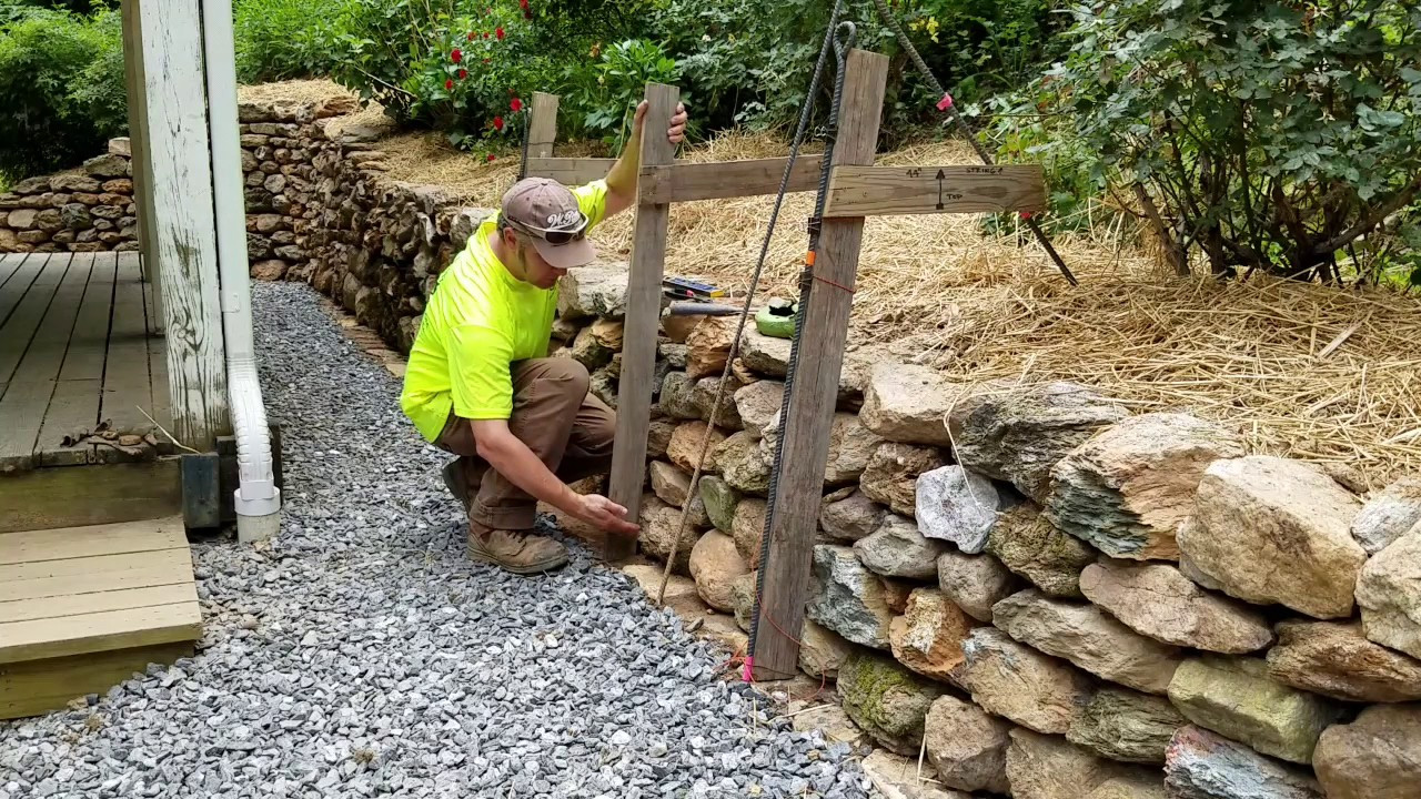 Best ideas about DIY Stone Wall . Save or Pin DIY How To Build & Install Single Sided Wall Frame Dry Now.